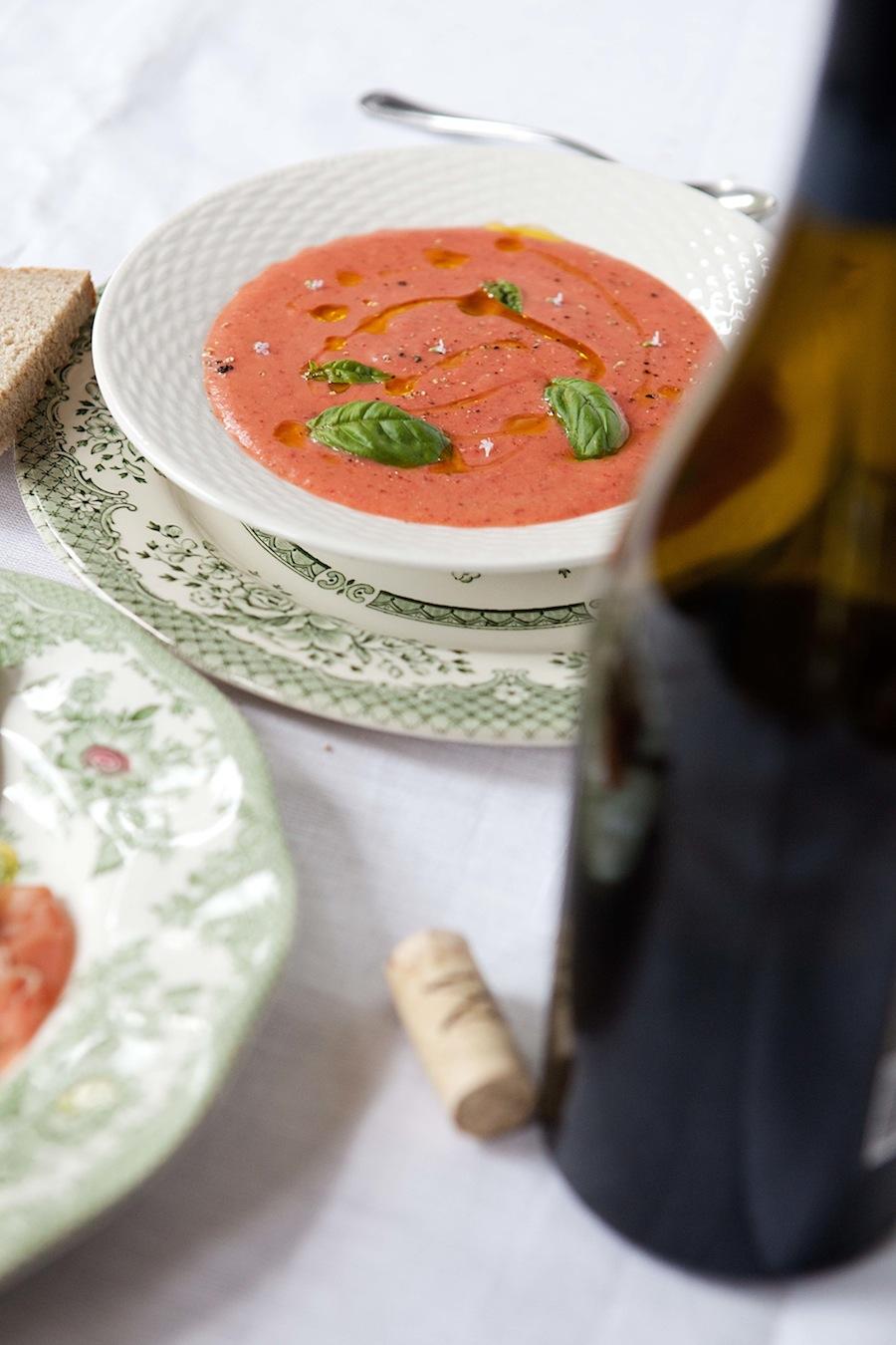 Strawberry gazpacho | Five And Spice