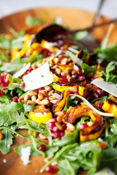 arugula delicata salad 2