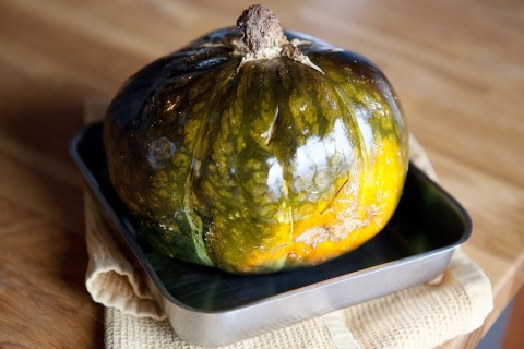 kabocha roasted