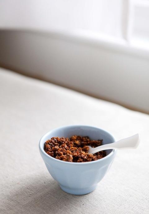 nutty granola bowl 2