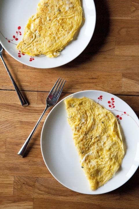 basic omelet 1