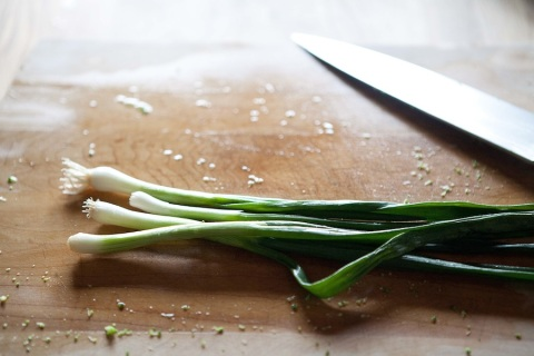green onions for slicing