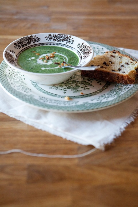 spinach pine nut soup 1