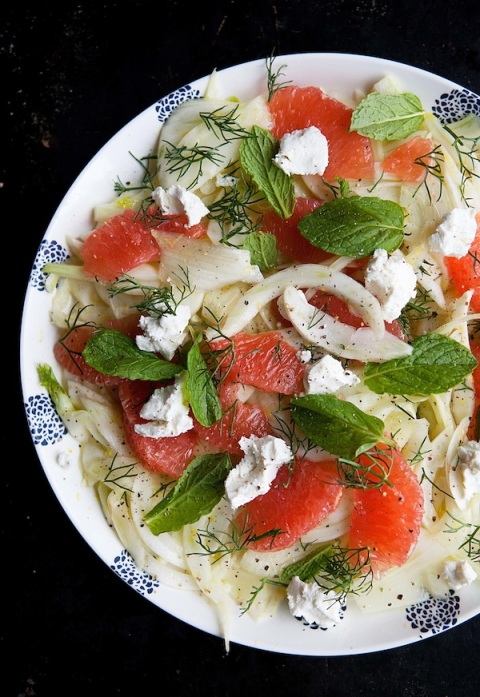 fennel grapefruit salad